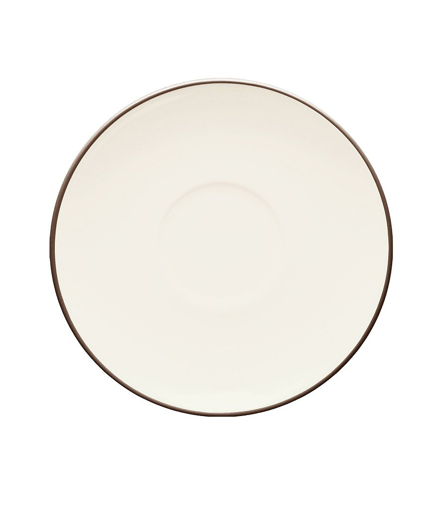 Noritake Colorwave Coupe Matte & Glossy Stoneware Saucer