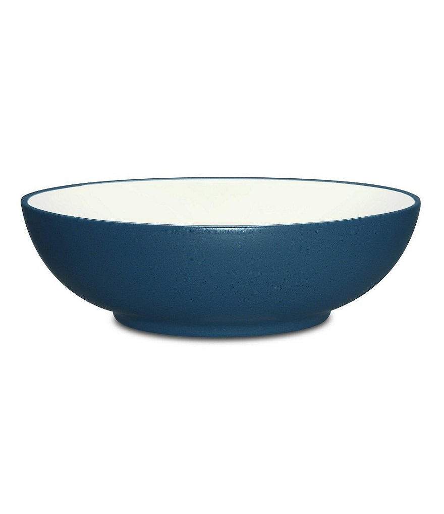 Noritake Colorwave Coupe Matte & Glossy Stoneware Vegetable Bowl