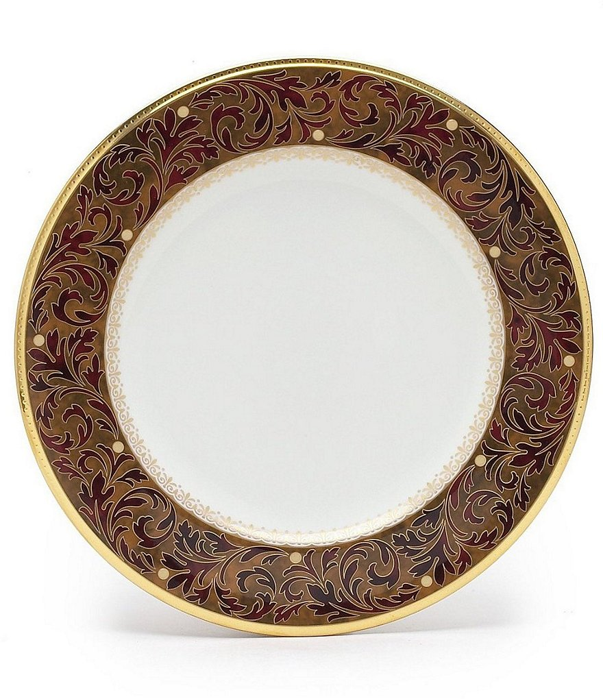 Noritake Xavier Gold China Dinner Plate