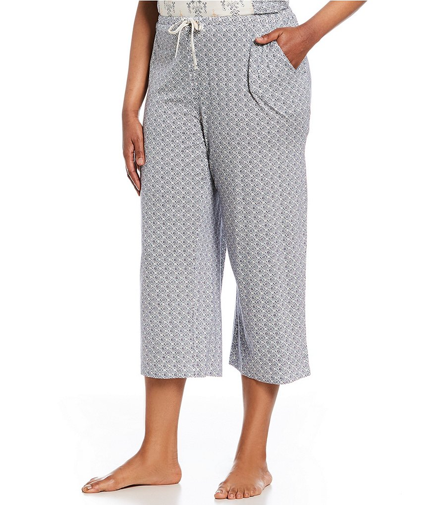 Nottibianche Plus Cropped Sleep Pants