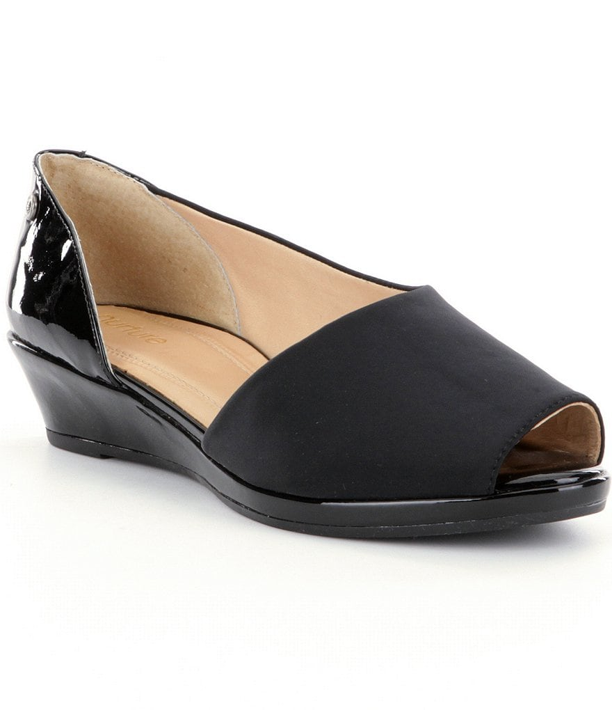 Nurture Loreleie Peep Toe Wedges