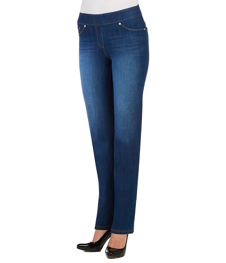 Nygard SLIMS Luxe Denim Straight Leg Pants