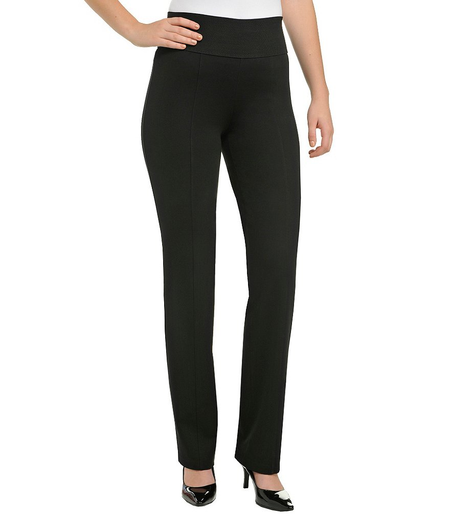ADX SLIMS by Allison Daley Petite Straight-Leg Pants