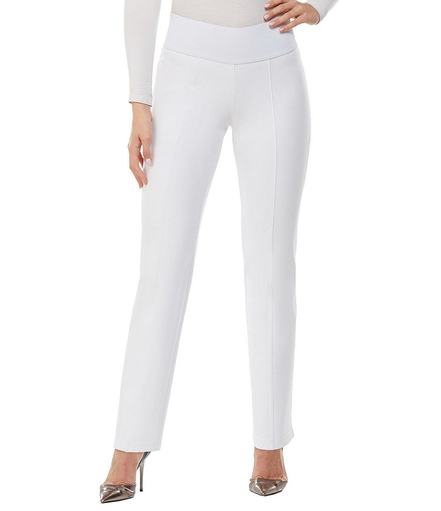 ADX SLIMS by Allison Daley Straight-Leg Pants