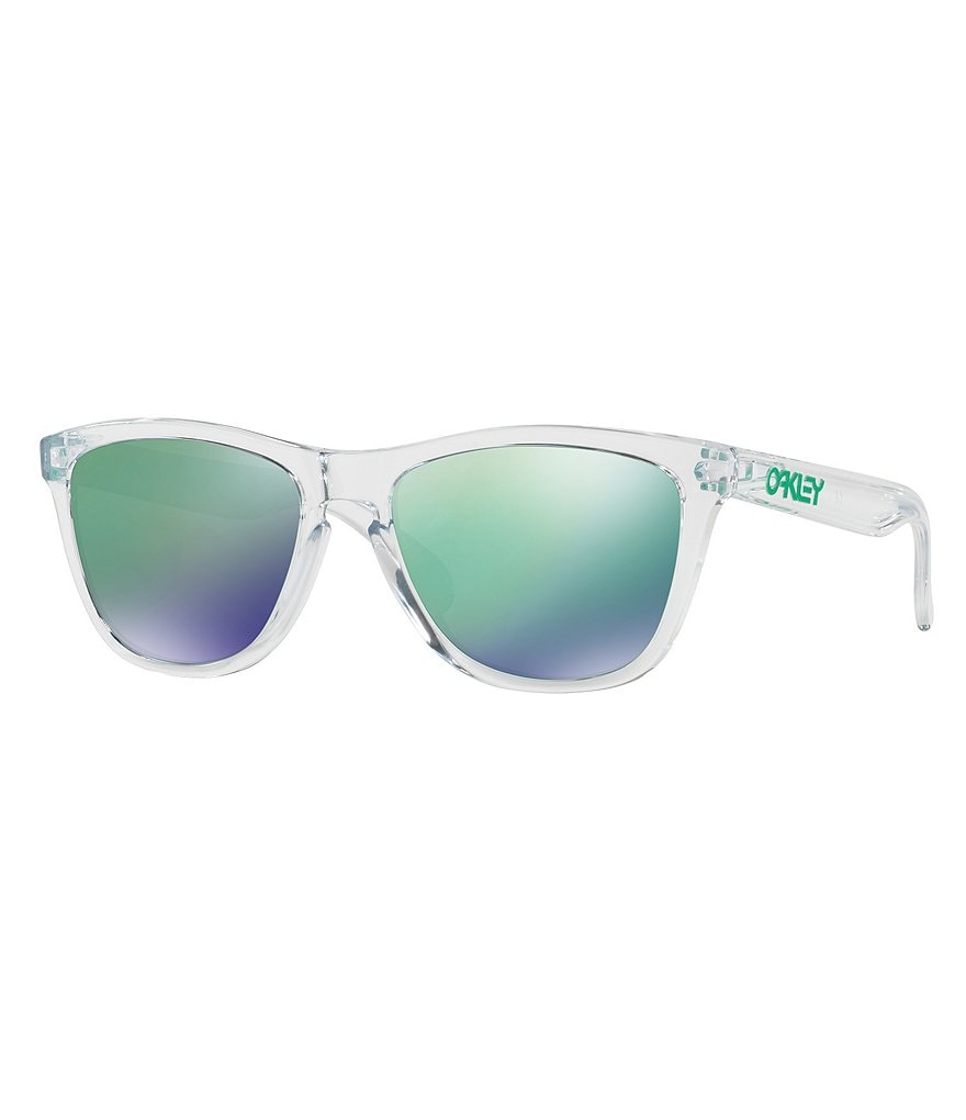 Oakley Frogskin Mirrored Square Sunglasses