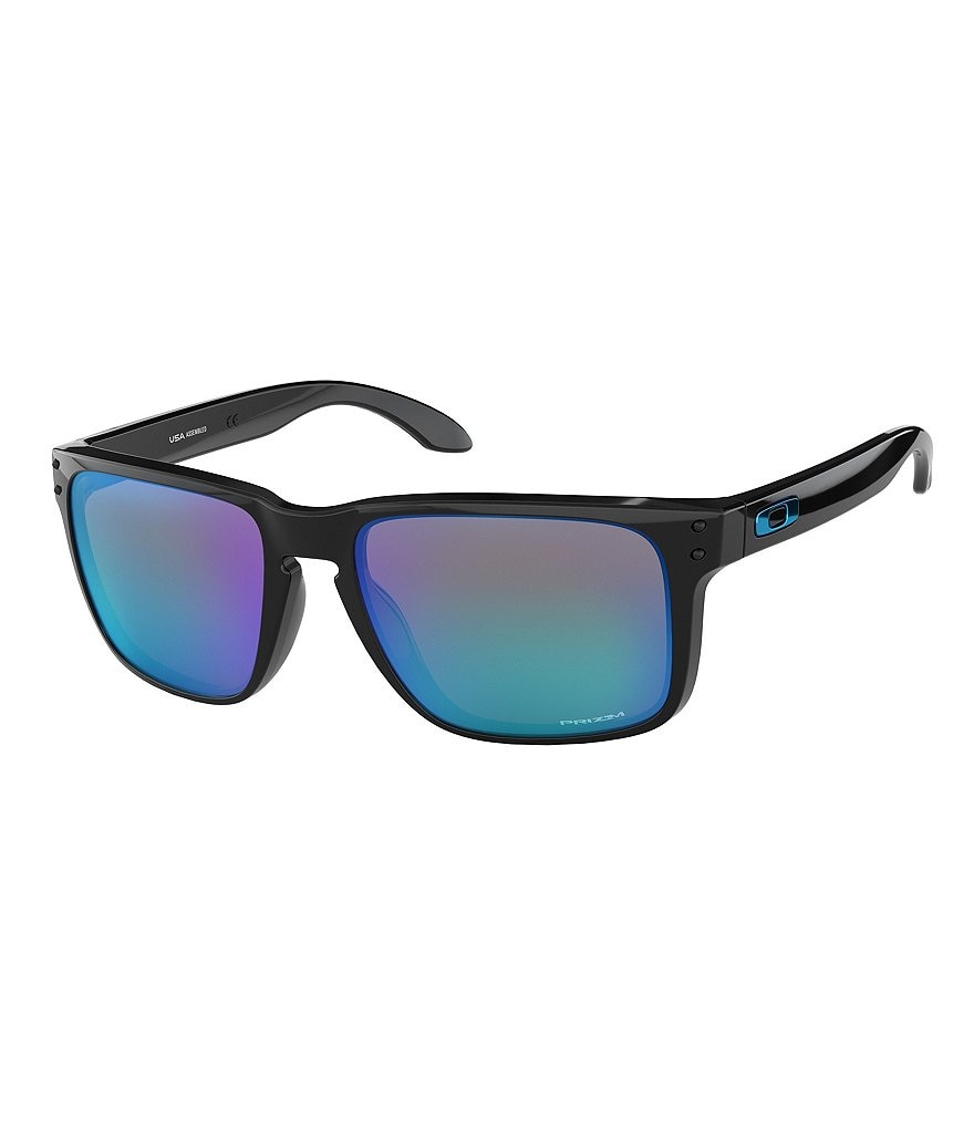 Oakley Mens Blue Holbrook XL Sunglasses