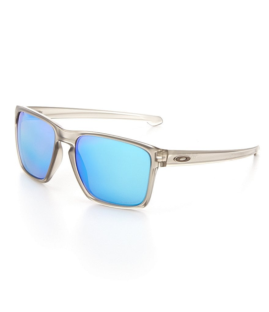 Oakley Polarized Mirrored Square Sunglasses
