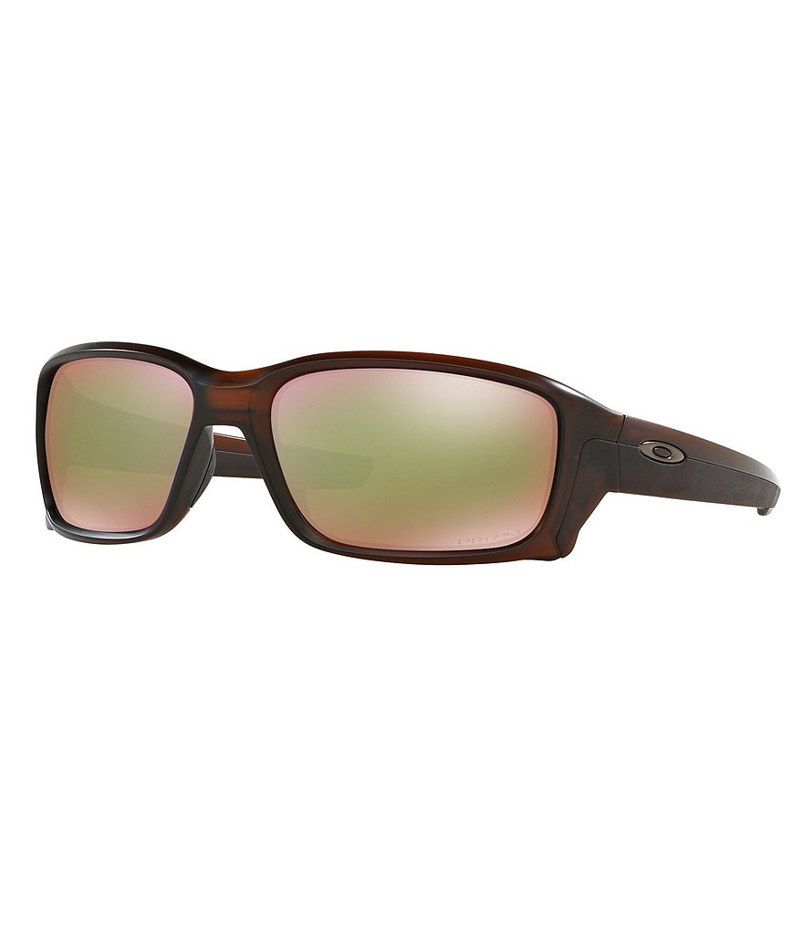 Oakley Straightlink Prizm Shallow Polarized Mirrored Sunglasses