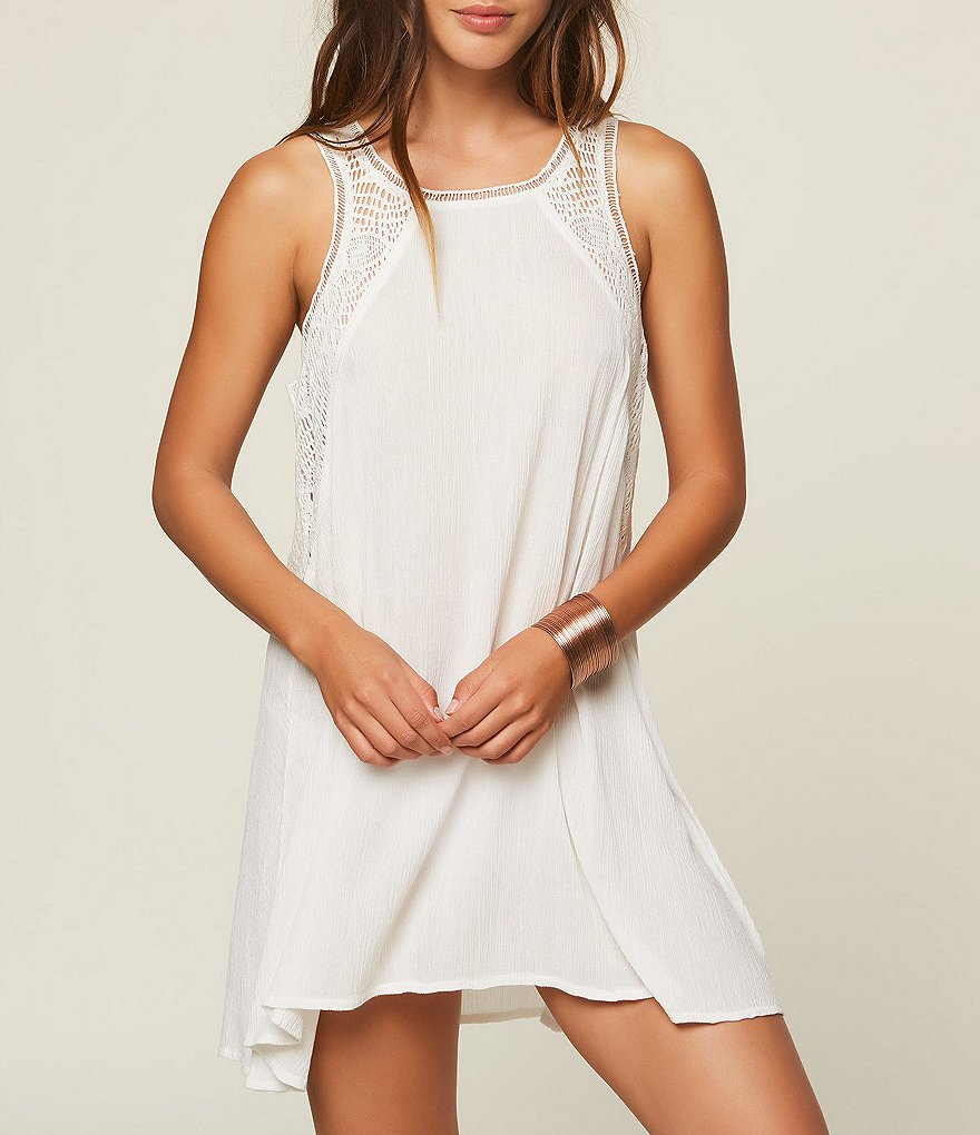 O'Neill Addison Crochet Dress Cover-Up