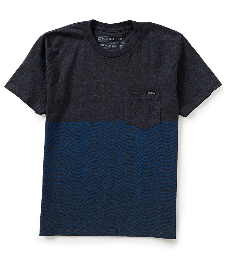 O´Neill Big Boys 8-20 Upwelling Short-Sleeve Pocket Tee