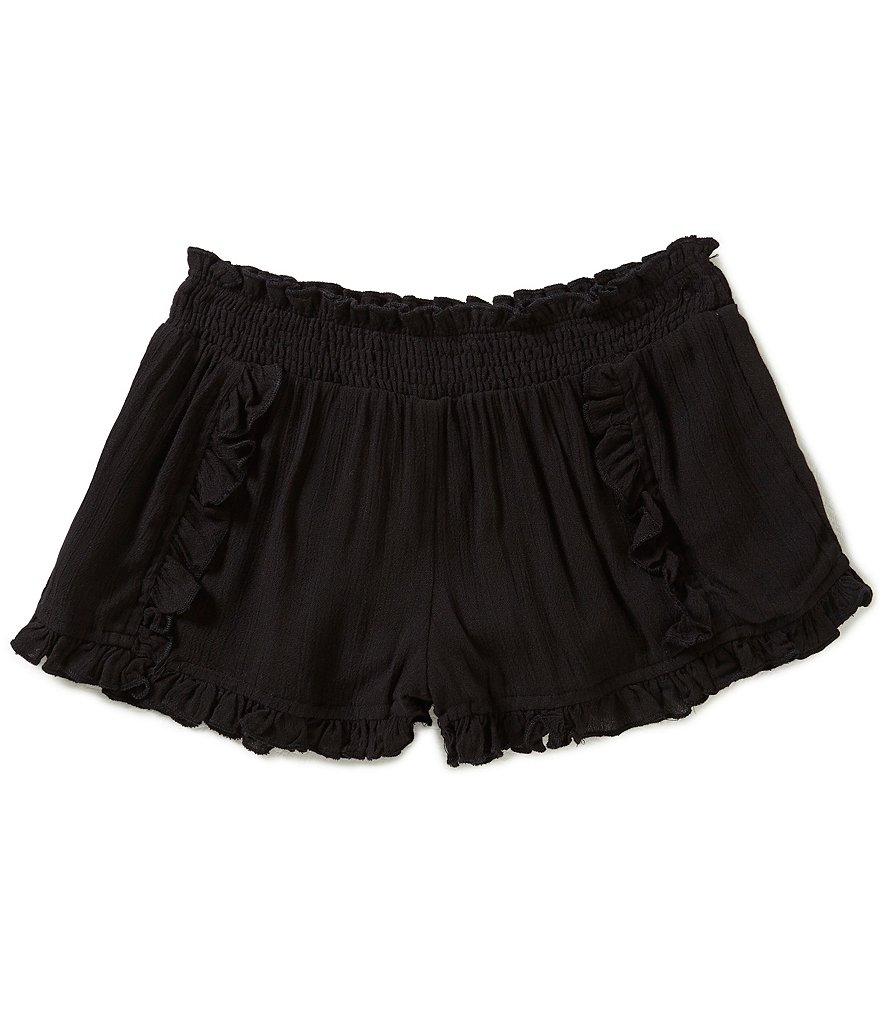 O´Neill Big Girls 7-16 Primrose Crinkle Gauze Shorts
