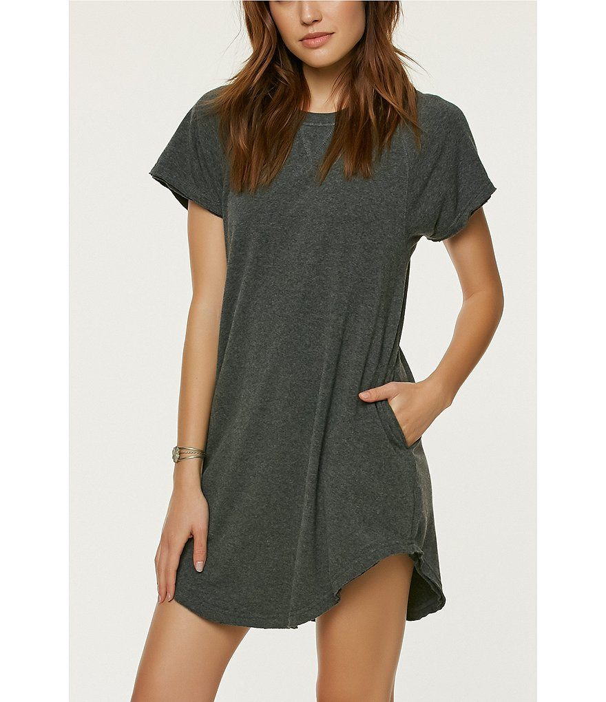 O'Neill Morganne Cozy Short Sleeve T-Shirt Dress