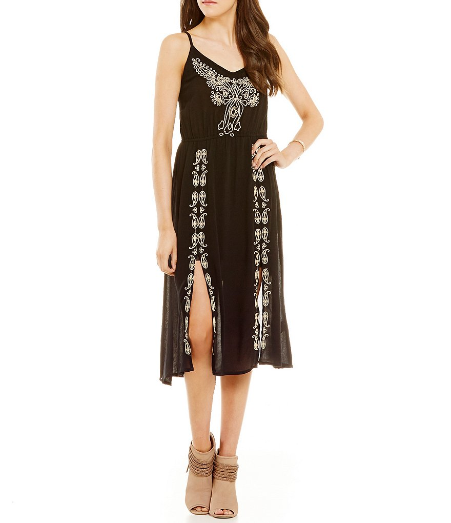 O´Neill Mustang Embroidered Midi Dress