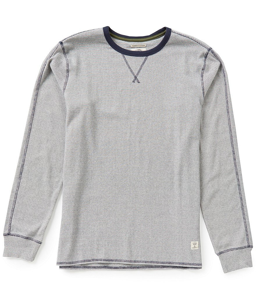 O'Neill Pipelines Long-Sleeve Crewneck Feeder-Stripe Thermal Tee