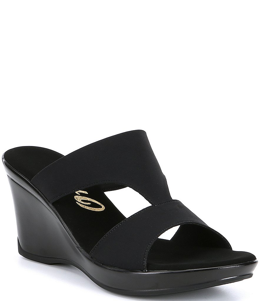 Onex Gabi Stretch Fabric Slip On Sandals Dillards