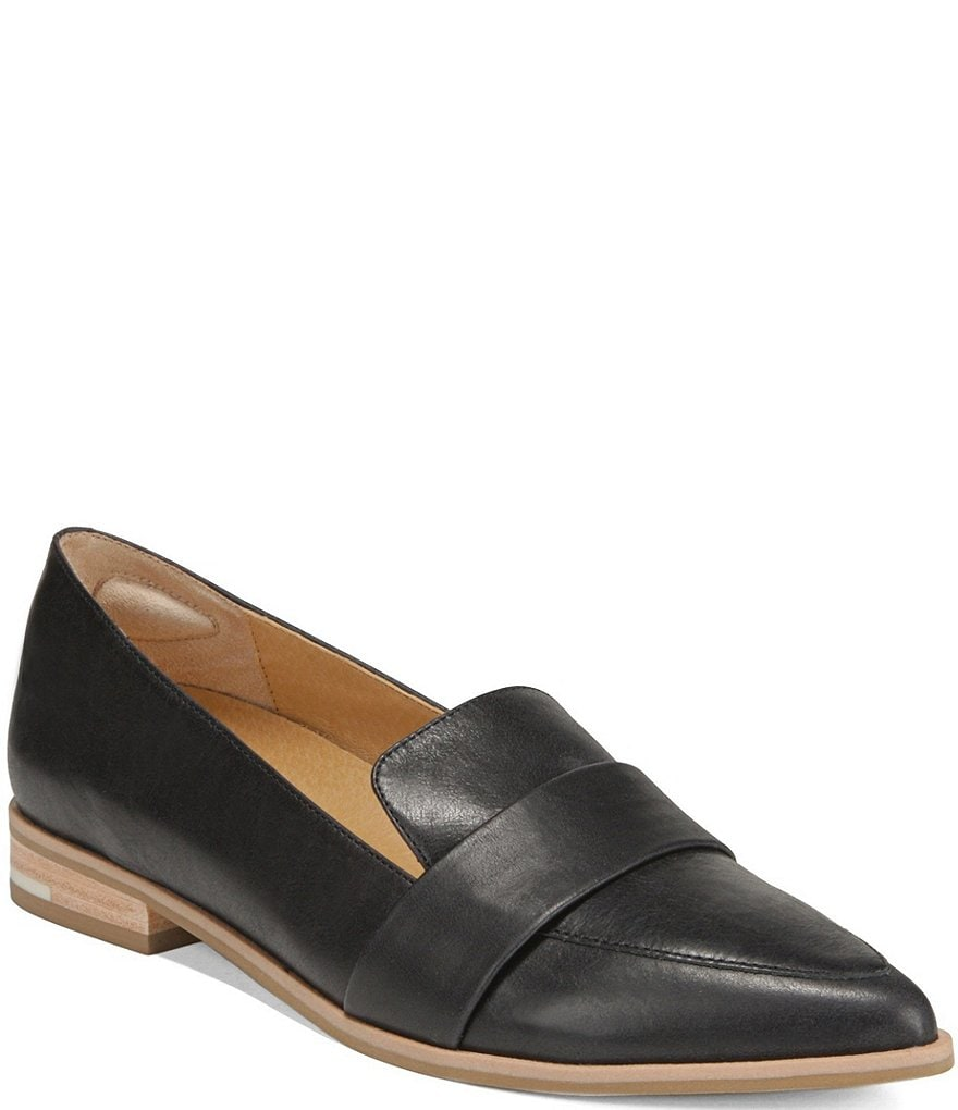 Original Collection by Dr. Scholl's Faxon Block Heel Slip On Leather Loafers