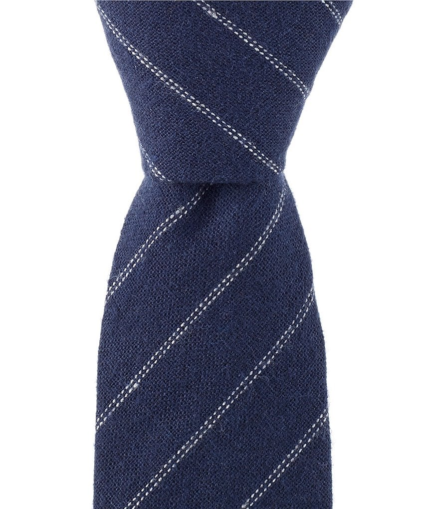 Original Penguin Chandler Stripe Skinny Cotton Tie