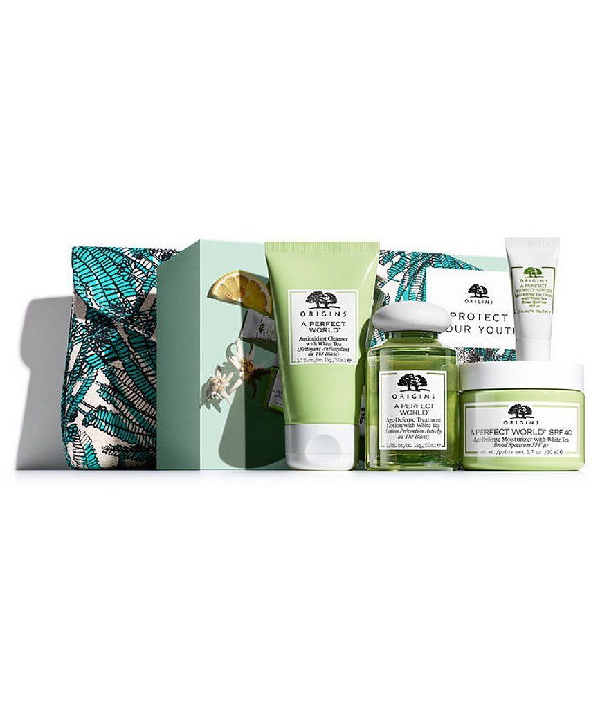 Origins A Perfect World Protect Your Youth Winter Skincare Set