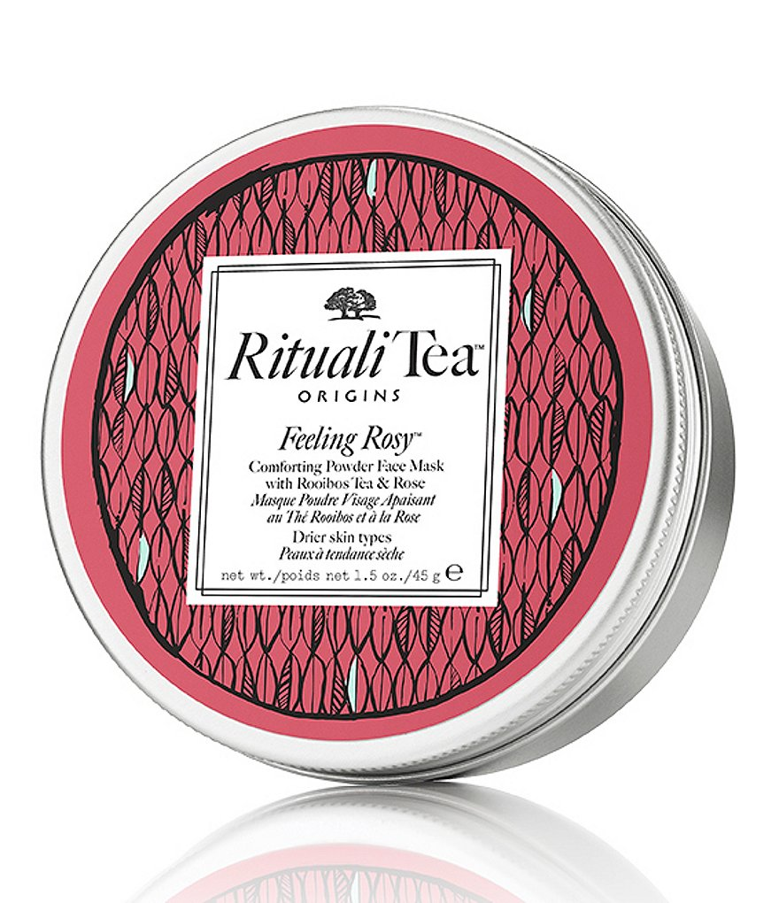 Origins RitualiTea Feeling Rosy Comforting Powder Face Mask with Rooibos Tea & Rose