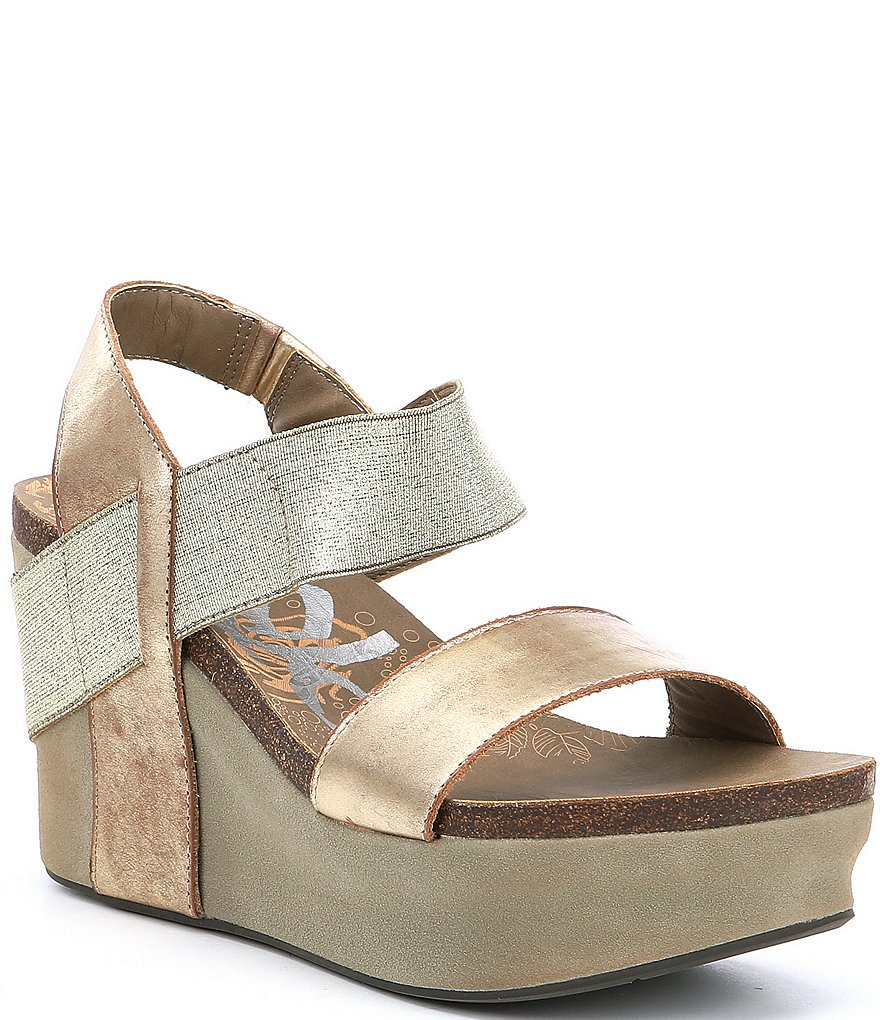 OTBT Bushnell Metallic Platform Wedges