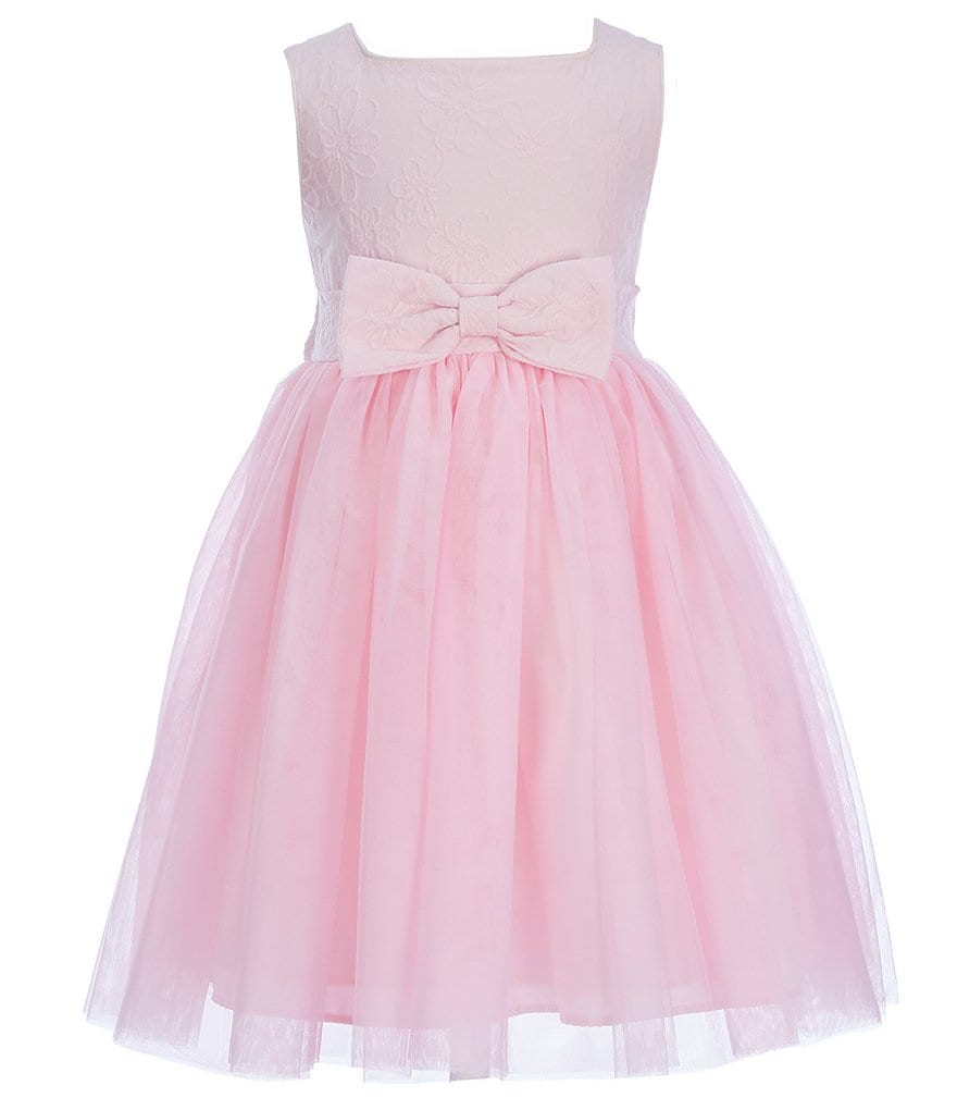 Pastourelle by Pippa & Julie Little Girls 2T-6X Bow Tulle Dress