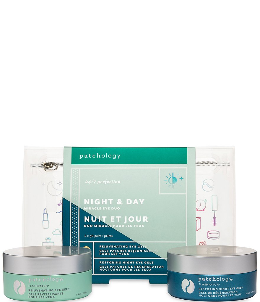Patchology Night & Day Miracle Eye Duo 5 Minute Eye Gel Kit
