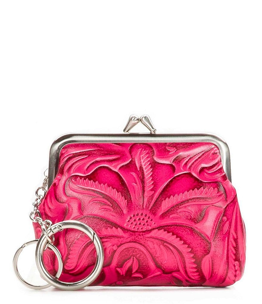 Patricia Nash Burnished Tooled Collection Borse Coin Case