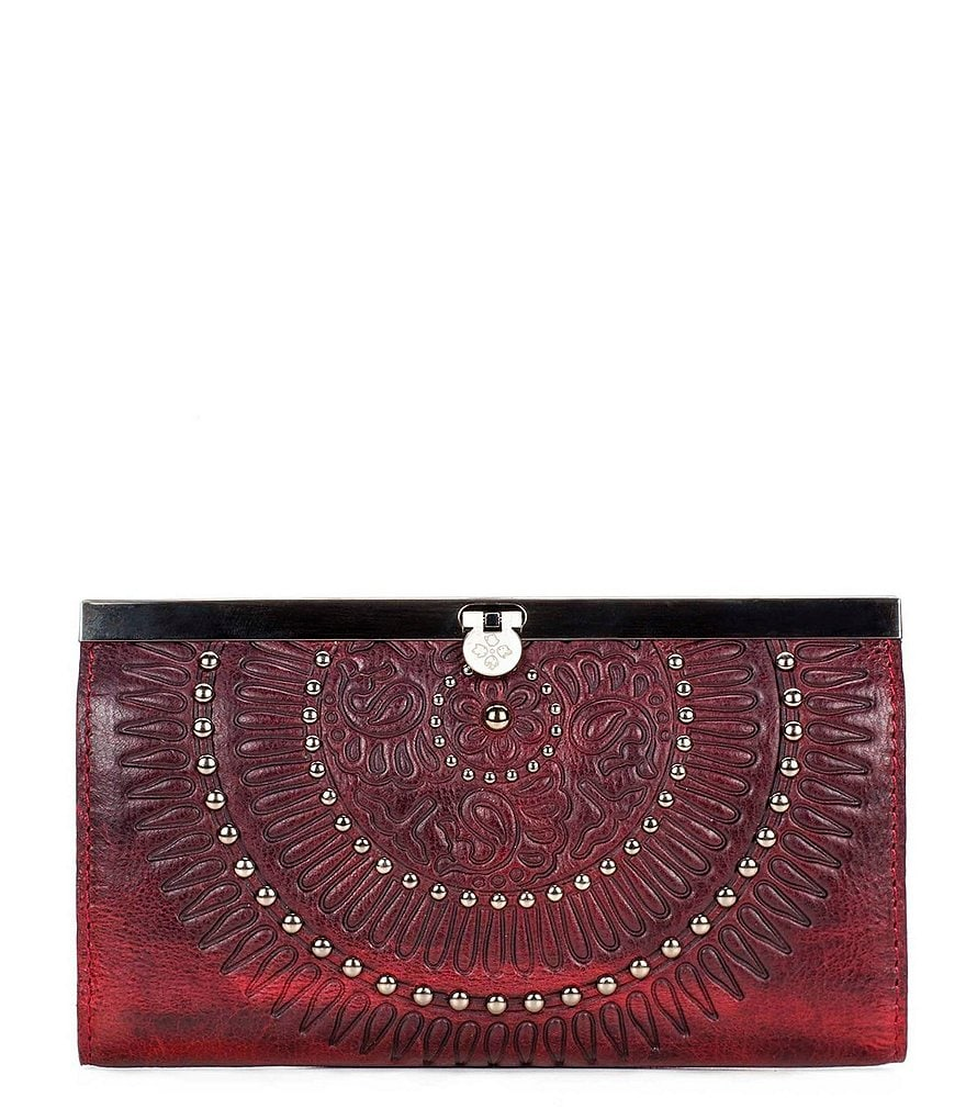 Patricia Nash Distressed Vintage Collection Cauchy Wallet