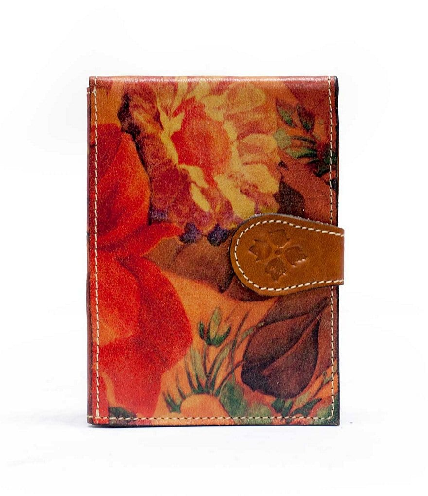 Patricia Nash Floral Passport Case
