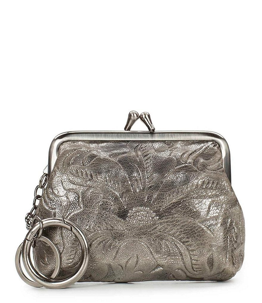 Patricia Nash Glitter Metallic Collection Large Borse Coin Case