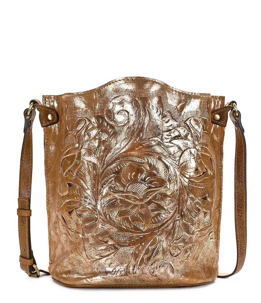 Patricia Nash Glitter Metallic Collection Lavello Bucket Bag