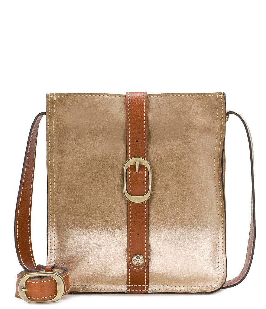 Patricia Nash Metallic Dip-Dye Collection Venezia Cross-Body Bag