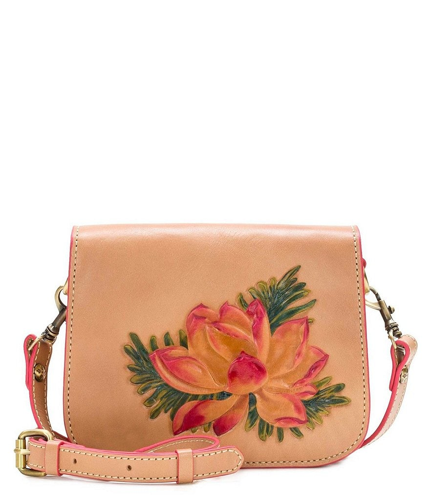 Patricia Nash Painted Lily Collection Rivoli Flap Cross-Body Bag