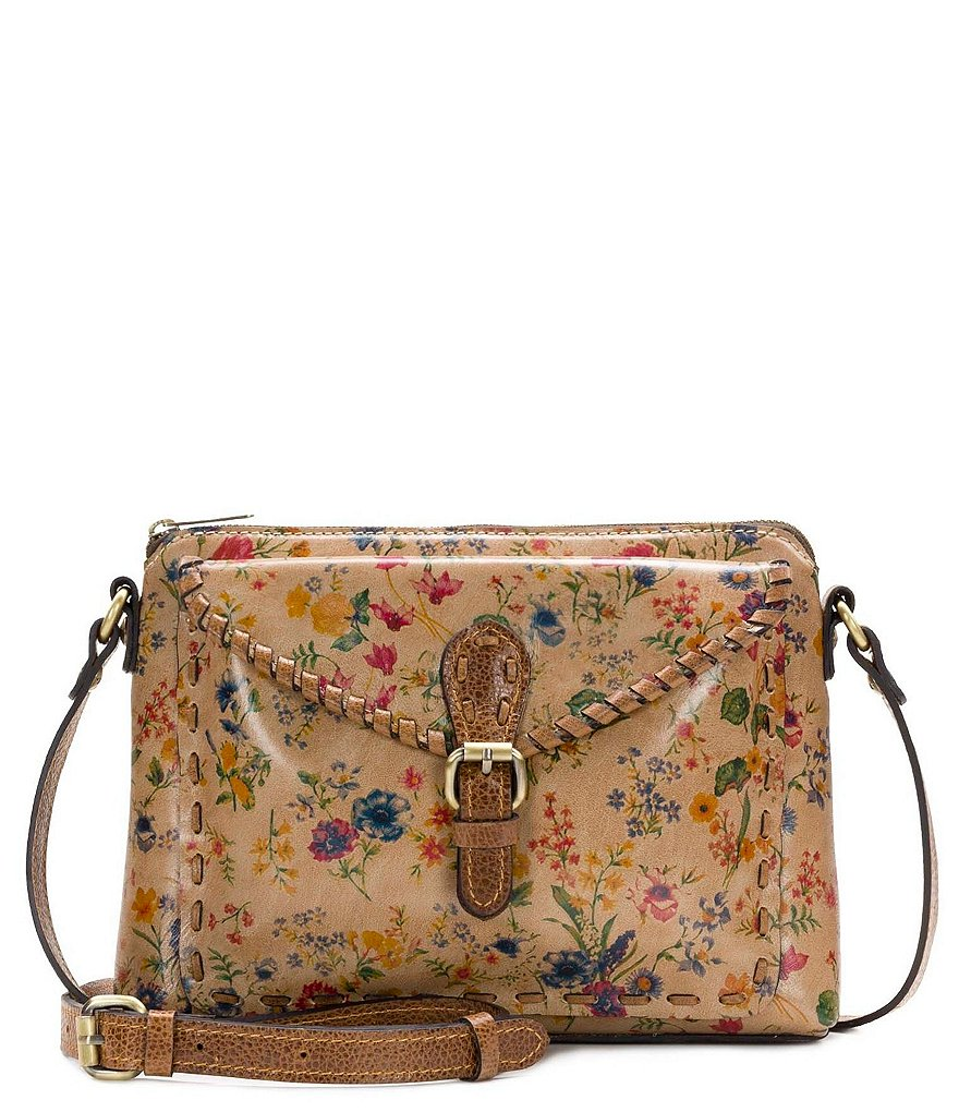 Patricia Nash Prairie Rose Collection Avellino Cross-Body Bag