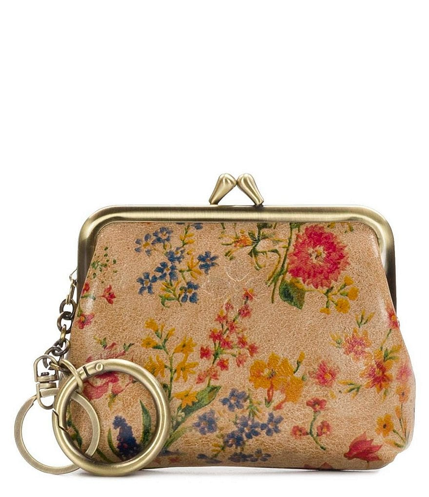 Patricia Nash Prairie Rose Collection Borse Coin Purse