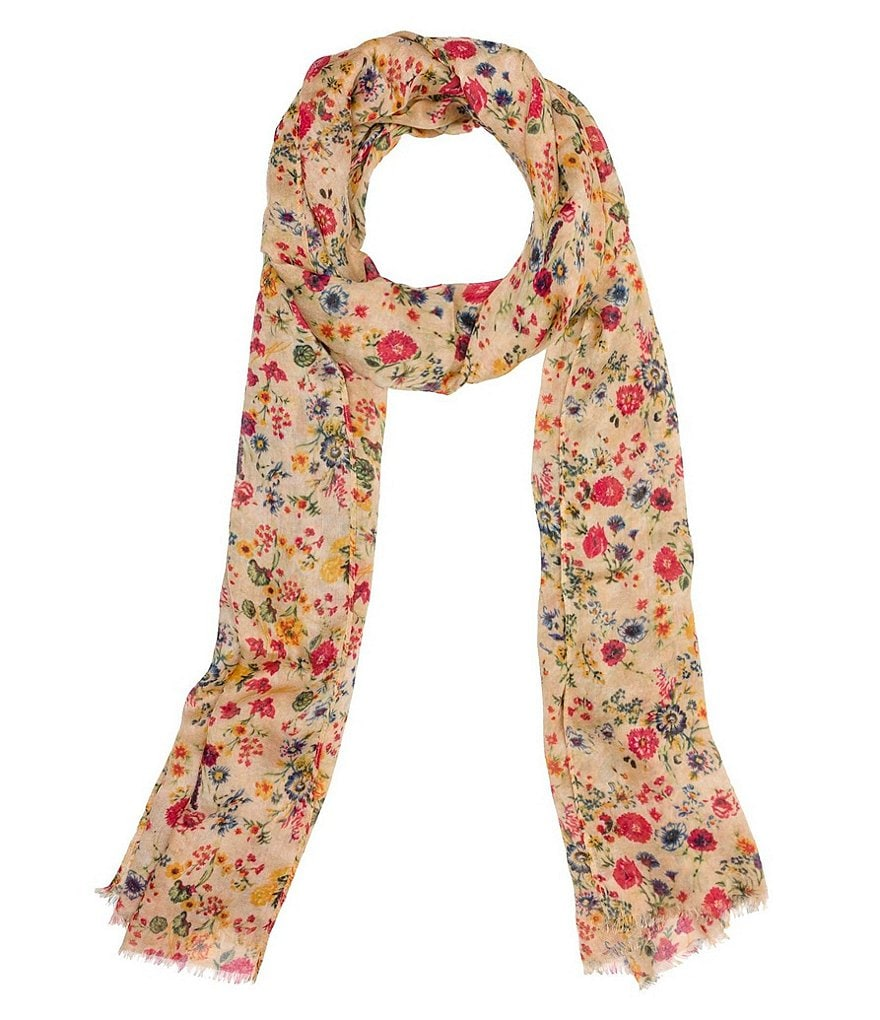 Patricia Nash Prairie Rose Collection Scarf