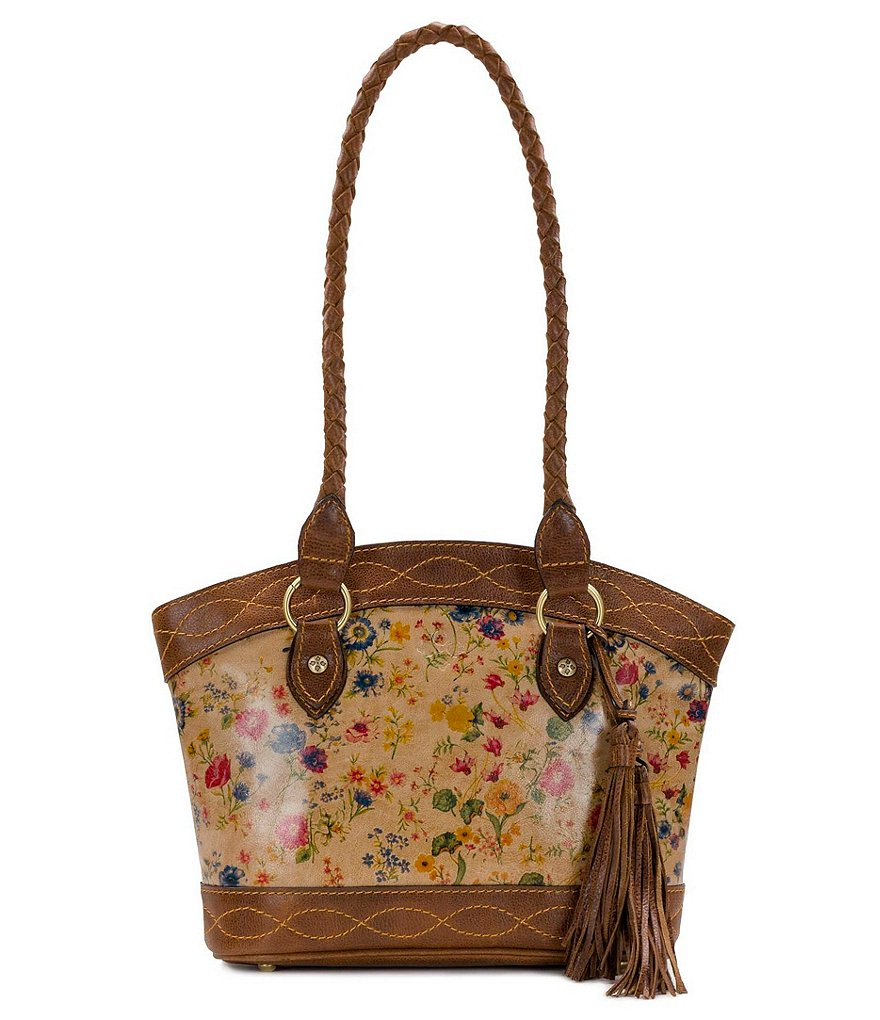 Patricia Nash Prairie Rose Collection Zorita Satchel