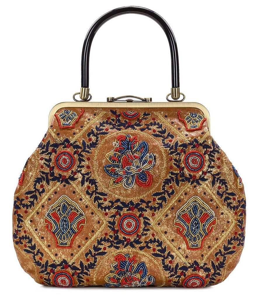 Patricia Nash Provencal Escape Beaded Collection Sedavi Frame Bag