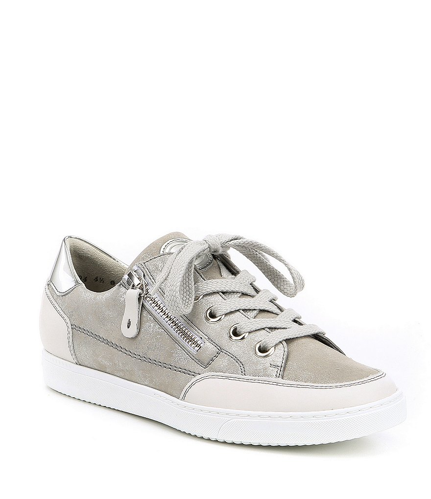 Paul Green Nuevo Leather and Glitter Sport Sneakers 5rerr