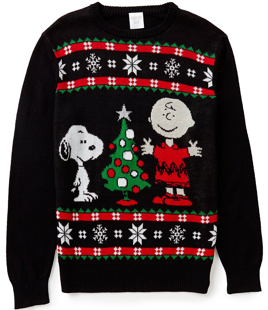 Peanut´s Charlie Brown and Snoopy Light Up Christmas Sweater