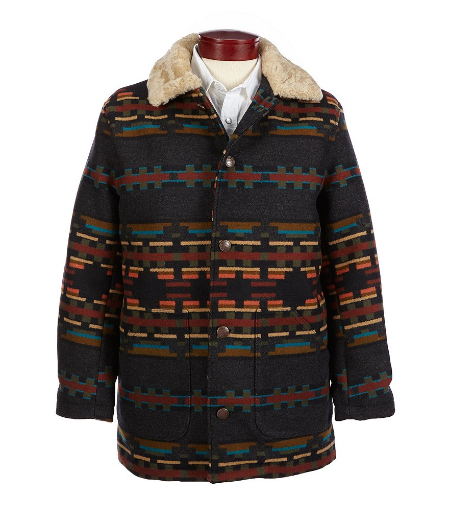 Pendleton Brownsville Shearling Collar Coat