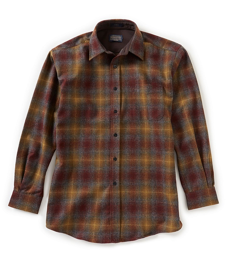 Pendleton Lodge Long-Sleeve Woven Shirt