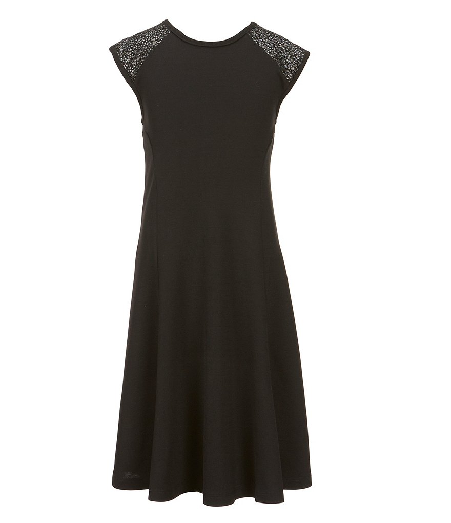 Penelope Tree Big Girls 8-14 Patricia Fit-And-Flare Dress