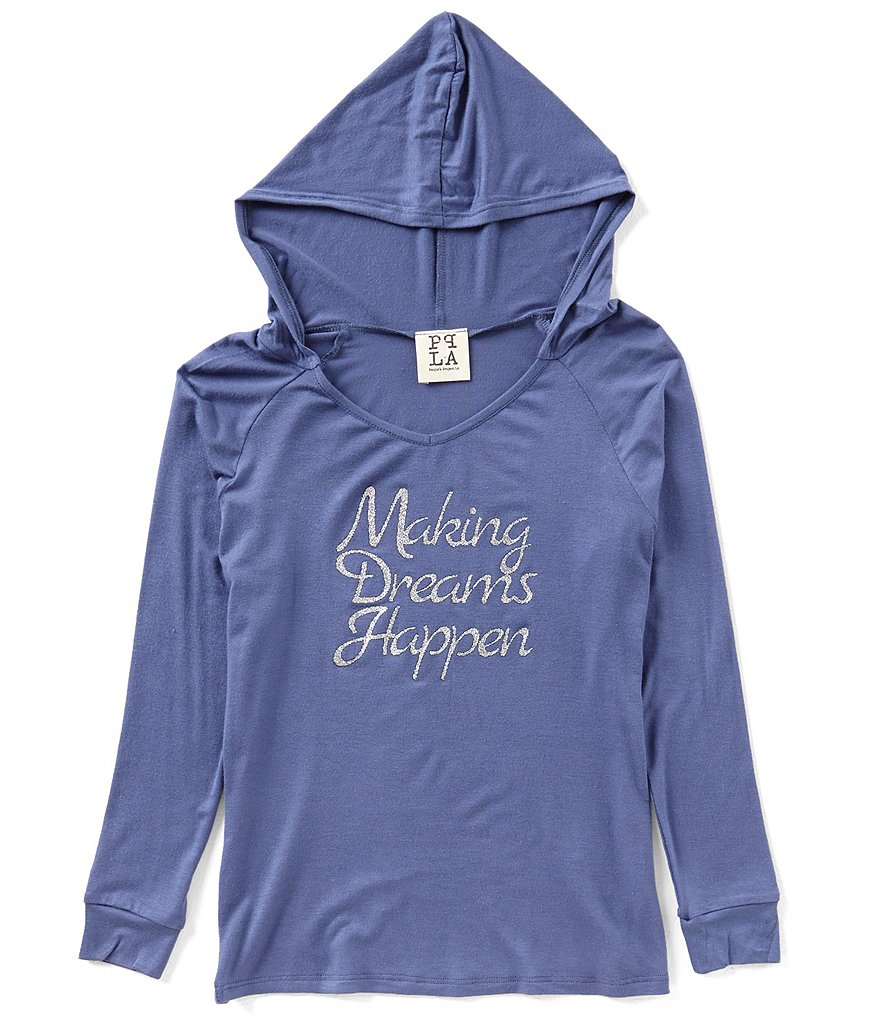 People's Project LA Big Girls 7-16 Making Dreams Happen Hoodie Top