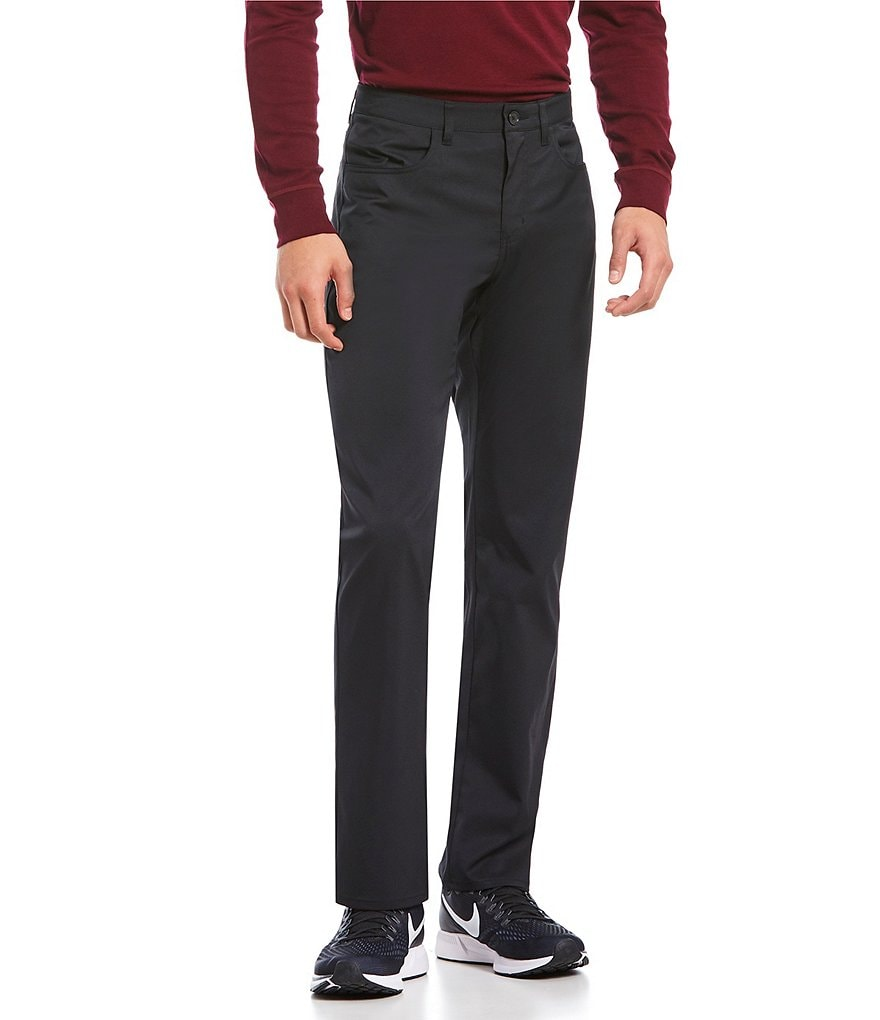 Perry Ellis Premium Performance 4-Pocket Flat-Front Flex Stretch Waist Pants