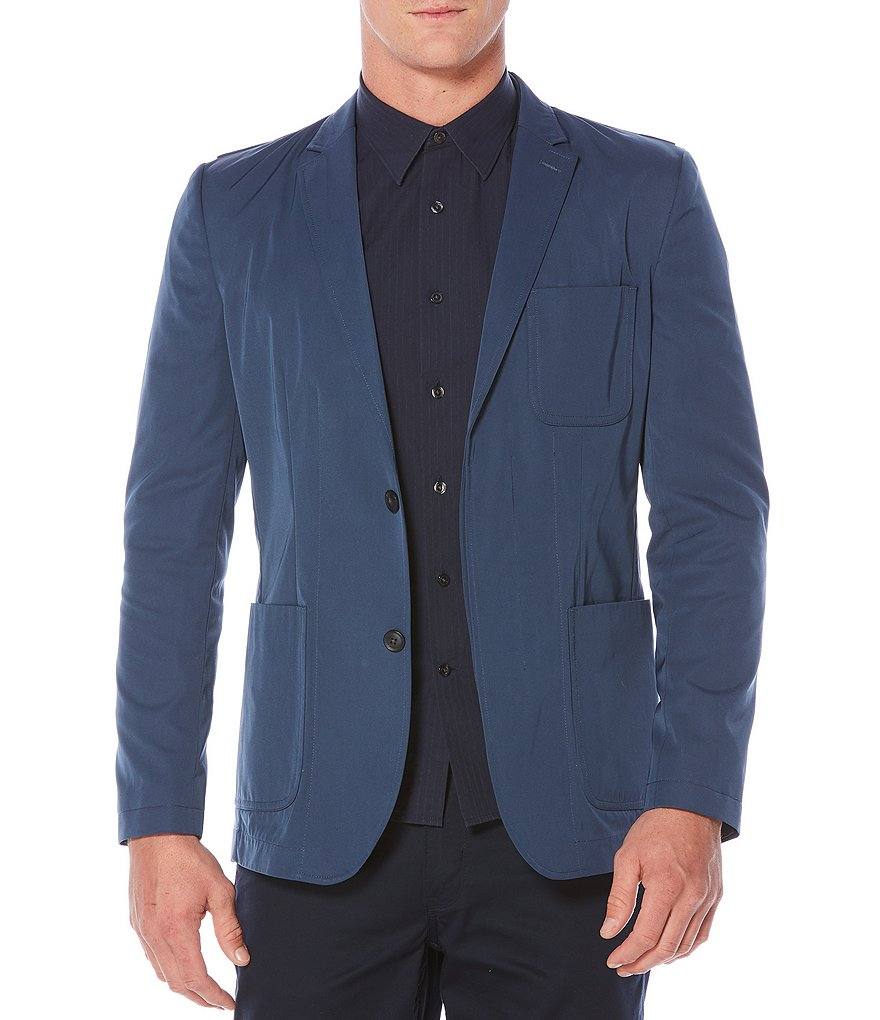 Perry Ellis Slim-Sport Fit Water Resistant Sportcoat