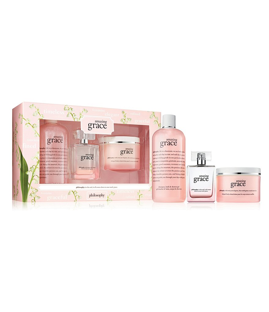 philosophy amazing grace eau de parfum gift set