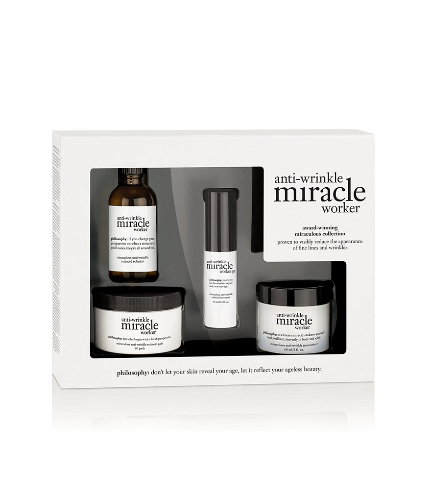 philosophy anti-wrinkle miracle worker award-winning miraculous collection