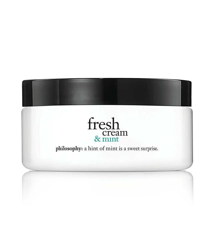 philosophy fresh cream & mint glazed body soufflé