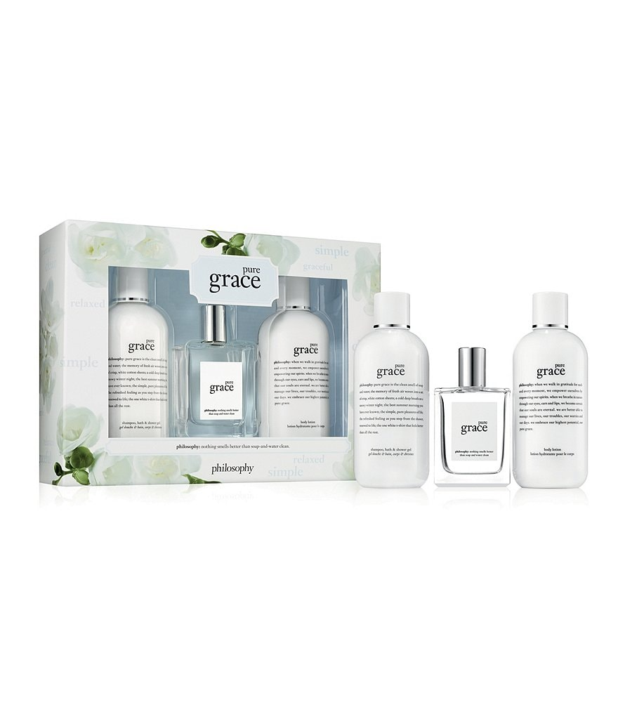 philosophy pure grace eau de toilette gift set